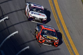 Martin Truex Jr., Joe Gibbs Racing, Toyota Camry Bass Pro Shops, Denny Hamlin, Joe Gibbs Racing, Toyota Camry FedEx Express