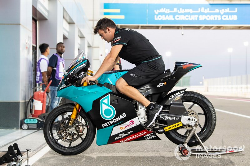 Bike Jake Dixon, SIC Racing Team