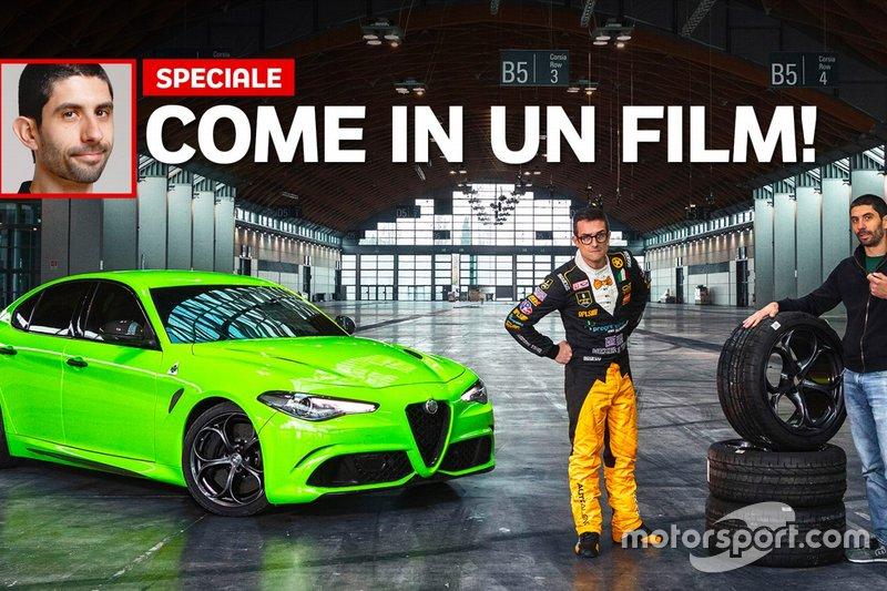 Come si guida l'Alfa Romeo Giulia di 6 Underground