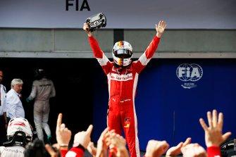 Ganador Sebastian Vettel, Ferrari