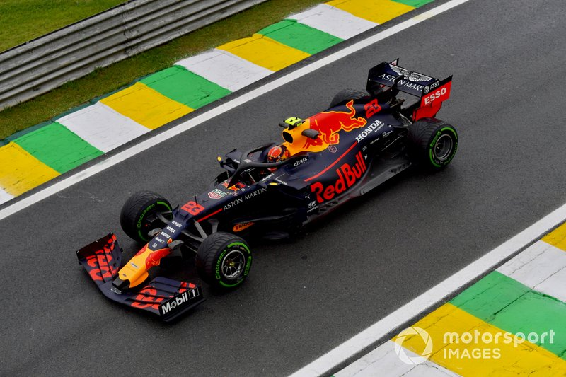 14º - Alexander Albon, Red Bull RB15