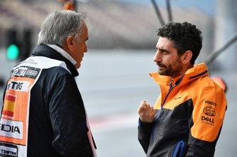 Giorgio Piola, Motorsport.com con Andrea Stella Ingegnere di Pista, McLaren