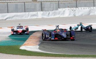 Robin Frijns, Envision Virgin Racing, Audi e-tron FE06 Jérôme d'Ambrosio, Mahindra Racing, M6Electro, Ma Qinghua, NIO 333, NIO FE-005
