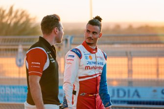 Oliver Rowland, Nissan e.Dams, Pascal Wehrlein, Mahindra Racing