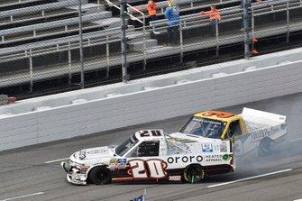 Spencer Boyd, Young's Motorsports, Chevrolet Silverado, #3: Jordan Anderson, Jordan Anderson Racing, Chevrolet Silverado Bommarito.com / WCIparts.com