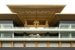Construcción del edificio de pits del Circuito de Hanoi
