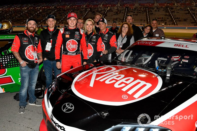 Christopher Bell, Joe Gibbs Racing, Toyota Supra Rheem guests