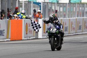 Victoire pour Maverick Vinales, Yamaha Factory Racing