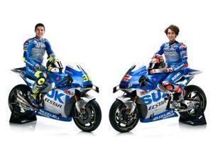 Alex Rins, Team Suzuki MotoGP and Joan Mir, Team Suzuki MotoGP