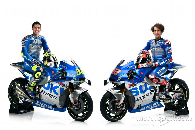 Alex Rins, Team Suzuki MotoGP and Joan Mir, Team Suzuki MotoGP