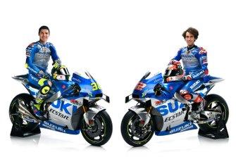 Alex Rins, Team Suzuki MotoGP e Joan Mir, Team Suzuki MotoGP