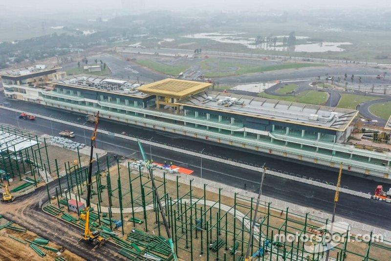 Baufortschritt in Hanoi
