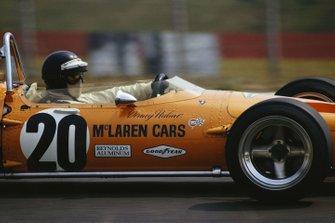 Peter Gethin, McLaren M14A Ford, al GP d'Olanda del 1970