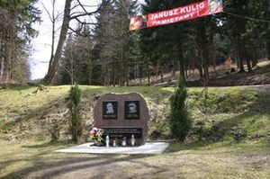 Marian Bublewicz & Janusz Kulig Monument, Walim