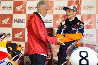 Jorge Lorenzo, Repsol Honda Team, mit Jim Redman