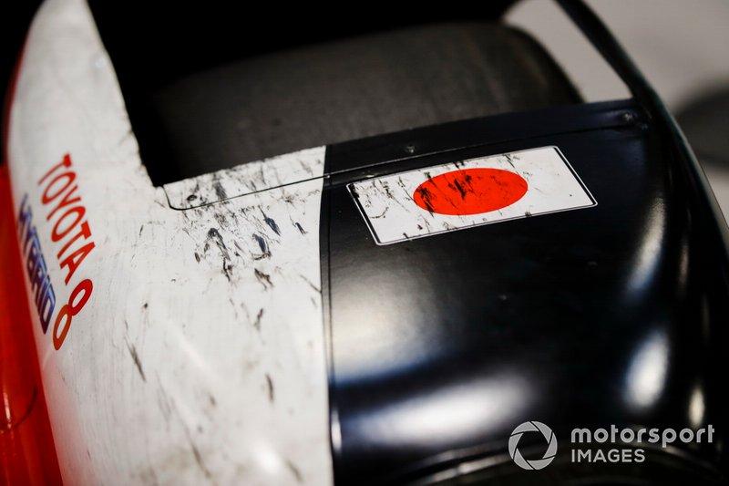 Coche de las 24 Horas de Le Mans Toyota ganador 2019 de Sébastien Buemi, Kazuki Nakajima y Fernando Alonso