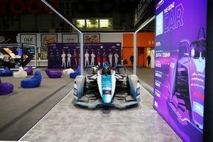 Formula E display car
