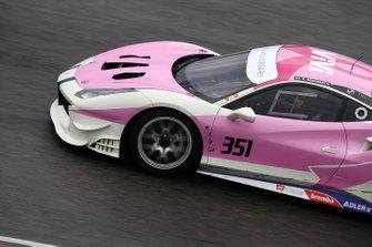 #351 Ferrari 488 Challenge, Ferrari of Ft. Lauerdale: Claude Senhoreti