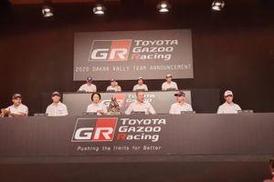 Toyota Gazoo Racing, conferencia de prensa en Dakar