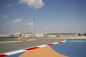 Sakhir GP track layout