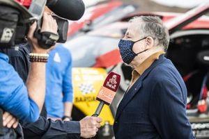 FIA president Jean Todt