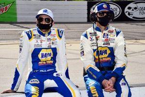 Chase Elliott, Hendrick Motorsports, Chevrolet Camaro NAPA Auto Parts et le chef d'équipe Alan Gustafson