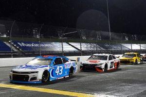 Erik Jones, Richard Petty Motorsports, Chevrolet Camaro Petty's Garage, Bubba Wallace, 23XI Racing, Toyota Camry DoorDash