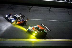 #91 Riley Motorsports Ligier JS P320, LMP3: Austin McCusker, Jeroen Bleekemolen, Jim Cox,Dylan Murry, #64 TeamTGM Porsche 911 GT3R, GTD: Ted Giovanis, Owen Trinkler, Hugh Plumb, Matt Plumb
