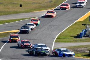Ryan Preece, JTG Daugherty Racing, Chevrolet Camaro Kroger/Coca-Cola and Kurt Busch, Chip Ganassi Racing, Chevrolet Camaro Monster Energy
