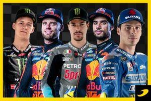 Los últimos 20 ganadores de MotoGP