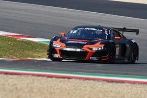 #18 Rutronik Racing by TECE: Michael Doppelmayr, Pierre Kaffer, Elia Erhart, Swen Herberger, Audi R8 LMS GT3