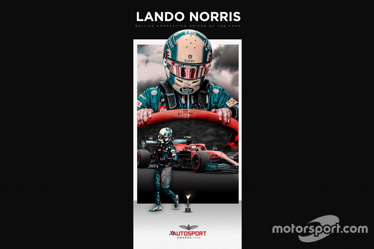 Lando Norris Autosport Awards