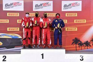 #27 Kessel Racing, Ferrari 488 GT3: Murat Cuhadaroglu, Francesco Zollo, David Fumanelli, Emanuele Maria Tabacchi