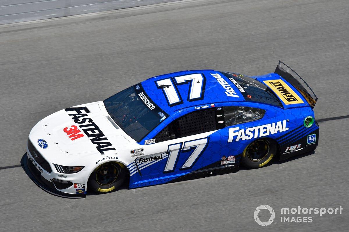 22. Chris Buescher, Roush Fenway Racing, Ford Mustang