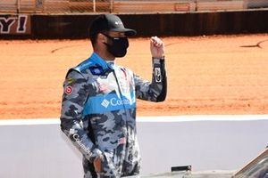 Bubba Wallace, Spencer Davis Racing, Toyota Tundra Columbia Outdoor Clothing