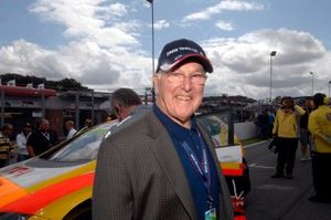 El legendario comentarista Murray Walker