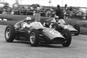 Roy Salvadori y Maurice Trintignant, Aston Martin Racing
