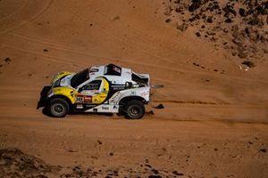 #349 Sodicars Racing Chevrolet: Perez Manuel Plaza, Monica Plaza