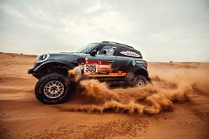 #309 X-Raid Mini JCW Rally Team: Orlando Terranova, Bernardo Graue