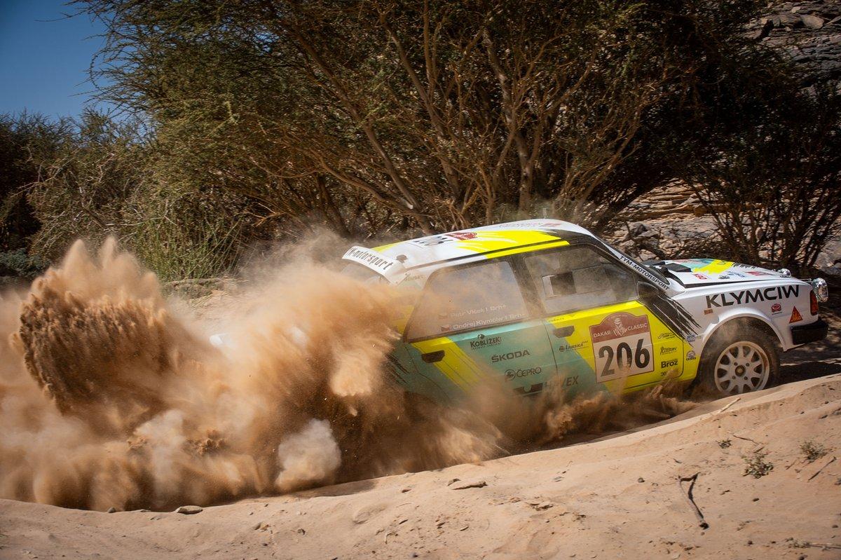 #206 Klymciw Racing 2wd: Ondrej Klymciw, Petr Vlcek