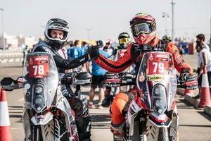 #78 Cesare Zacchetti KTM: Cesare Zacchetti, #79 Horizon Moto 95 KTM: Amaury Baratin