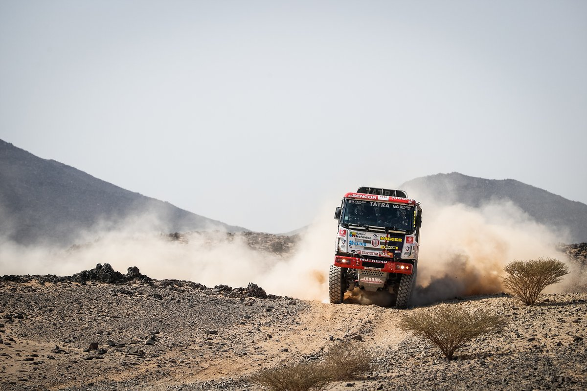 #514 Tatra Buggyra Racing: Martin Soltys, David Schovanek, TomᚠŠikola
