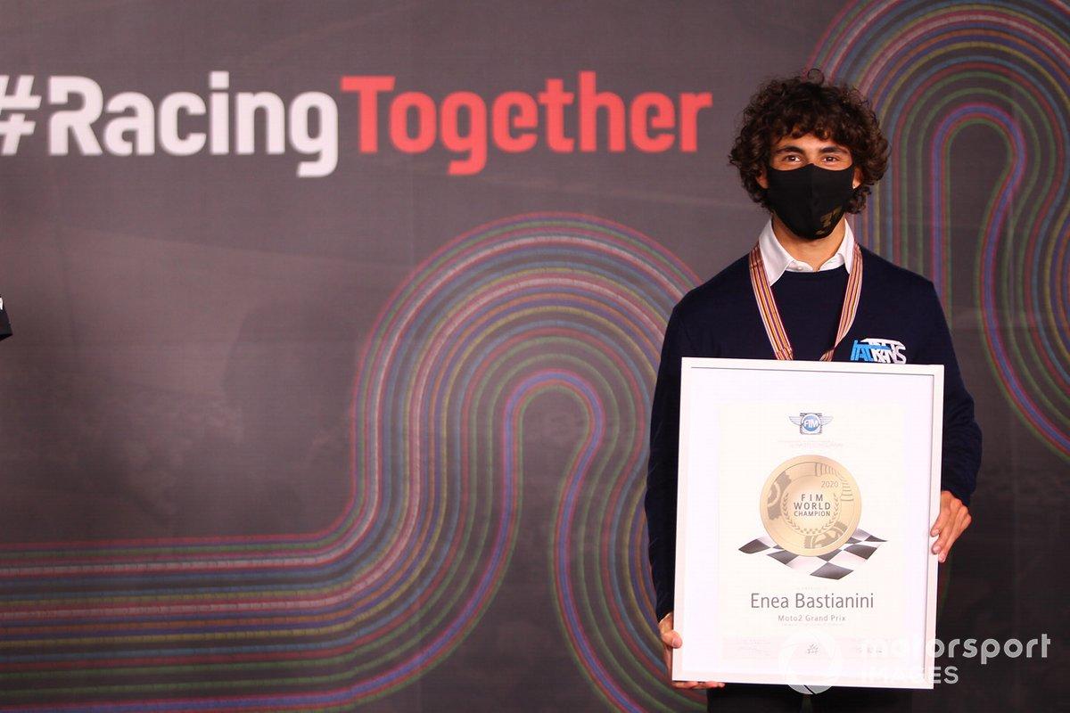 Campeón del mundo 2020 de Moto2, Enea Bastianini, Italtrans Racing Team