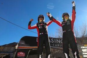 Winners Sébastien Ogier, Julien Ingrassia, Toyota Gazoo Racing WRT Toyota Yaris WRC