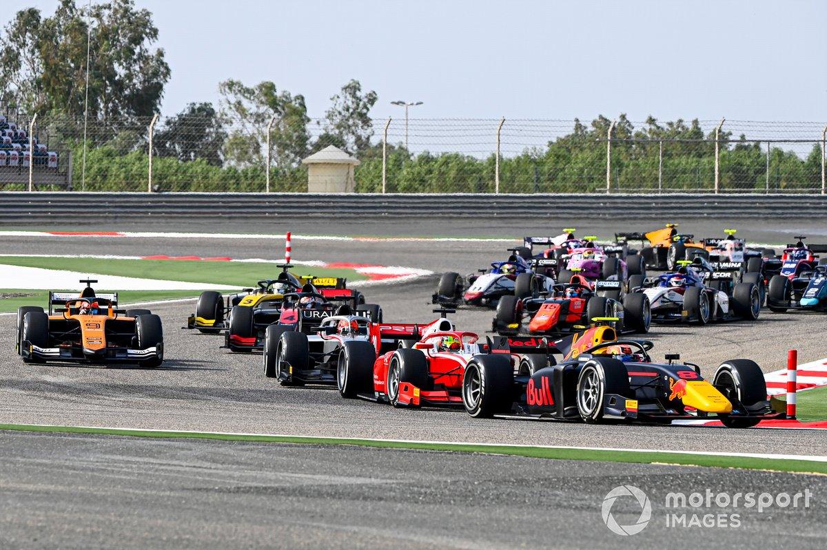 Jehan Daruvala, Carlin y Mick Schumacher, Prema Racing