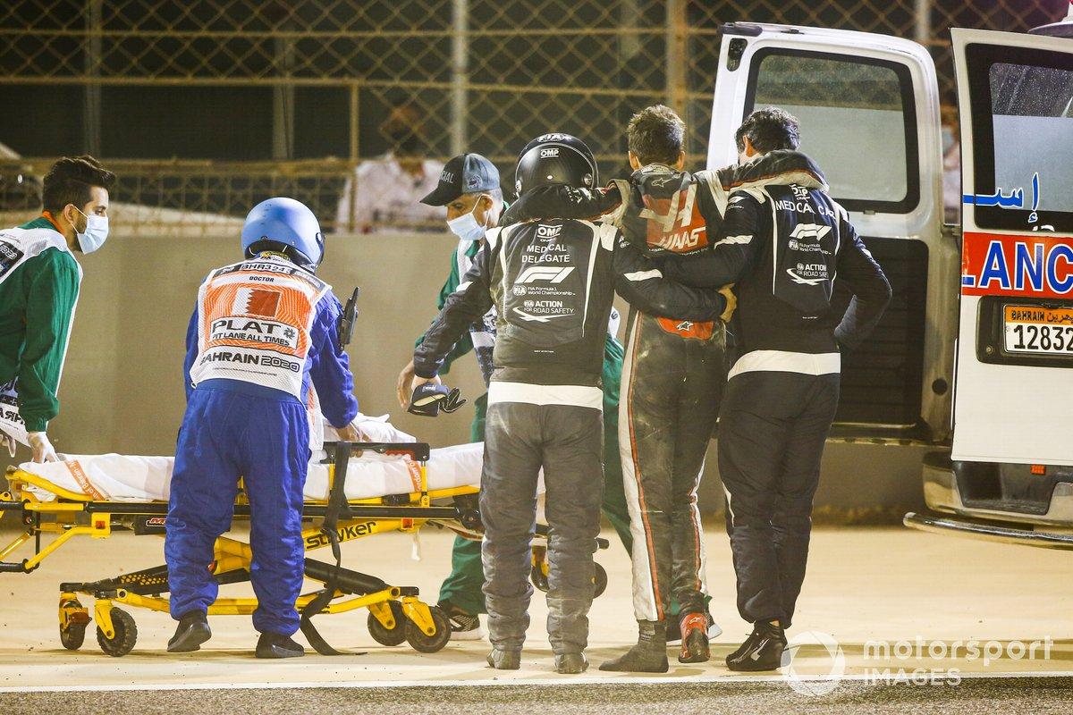Wypadek Romaina Grosjeana