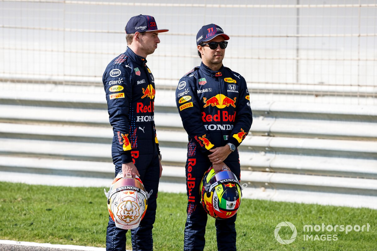 Max Verstappen, Red Bull Racing y Sergio Pérez, Red Bull Racing