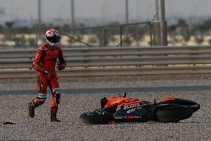 Iker Lecuona, KTM Tech3 after crash