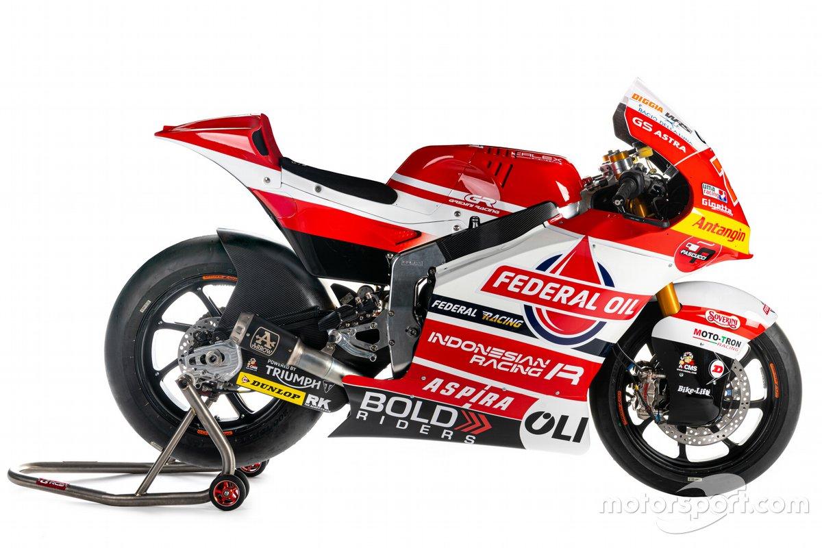 La moto de Gresini Racing