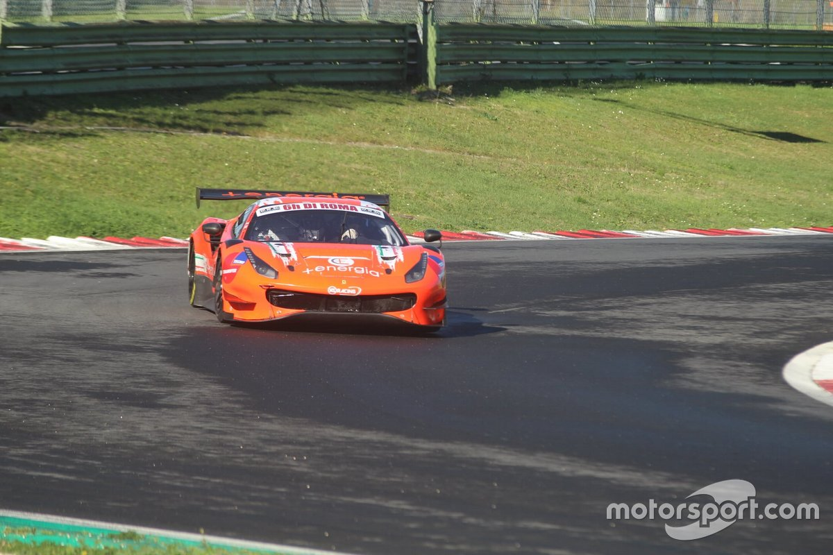 Daniele Di Amato, Axel Sartingen, Christian Kinch, RS Racing, Ferrari 488 GT3